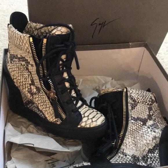 Giuseppe Zanotti Shoes - Platform sneakers